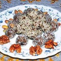 خرما کاکائویی دسر خوشمزه ماه رمضان