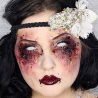 آرایش های ترسناک و عجیب (عکس)