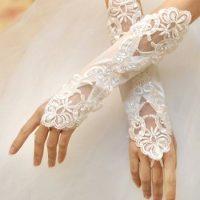 مدل دستکش عروس سری 2016