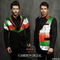 مدل لباس های پیشنهاد شده کامران بختیاری برای کاروان المپیک ایران