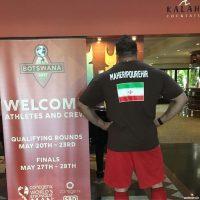 عکس و فیلم پیمان ماهری پور نماینده ایران در مسابقات قویترین مردان جهان