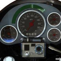 کلیپ دیدنی از سرعت وحشتناک زیاد موتور سنگین در جاده