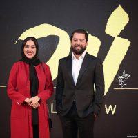 مهران مدیری و بهرام رادان در اكران خصوصي فيلم زرد